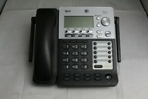 At t Synj Sb67158 4 Line Intercom Business Office Phone With Handset