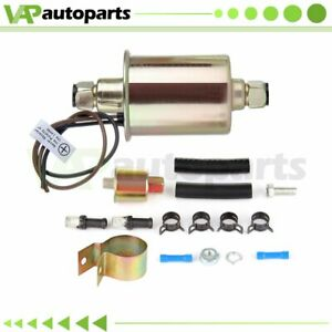 Universal Electric Fuel Pump For Cadillac Ford Jeep With Installation Kit E8012s
