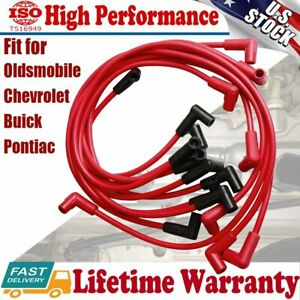 4048 Spark Plug Wire Set 8mm For Small Block Chevy 283 307 327 350 400 Hei Sbc