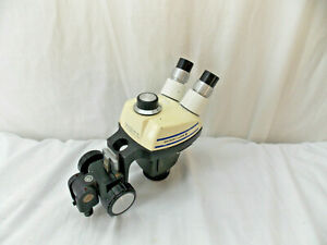 Bausch Lomb Stereozoom 4 Microscope 0 7x 3 0x Holder 2 New Wf16x Eyepiece