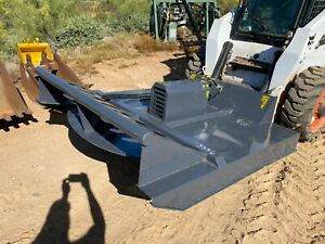 Skidsteer Brush Hog Attachment Bush Wacker Cutter Rotary Forestry Mulcher Mower