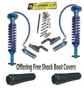 Superlift 15 20 Fits Ford F 150 King Front Coilover Shocks 4 5 6 Inch Sl5367 01a