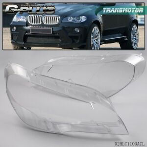 Headlight Lens Lamp Cover Lampshade Fit For Bmw X5 E70 07 12 4 Door Replacement