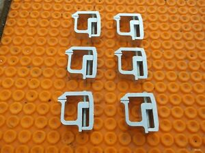 Camper Shell Clamps For Pick Up Lot Of 6 New