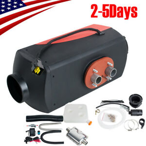 Portable 5000w 12v Air Diesel Fuel Heater For Car Truck Boat Bus 10l Tank Ce