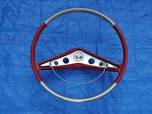 Beautiful Original 1959 1960 Chevrolet Impala And El Camino Steering Wheel
