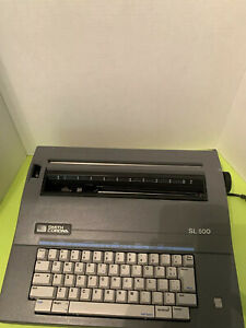 Smith Corona Sl 500 Electronic Typewriter Model 5a Correct