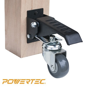 POWERTEC 17000 Workbench Caster Kit wPolyurethane Wheels & 400 LB Total Weight $76.17