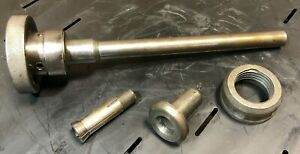Vintage Lathe Collet Draw Tube Assembly Possibly South Bend