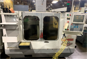 Used Haas Vf 2 Cnc Vertical Machining Center Mill 30x16 Vmc 20 Atc 15hp 1997