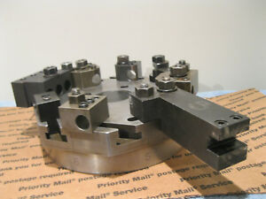 Hardinge Lathe Chucker Turret Top Plate 8 Station W holders Machinist Tools