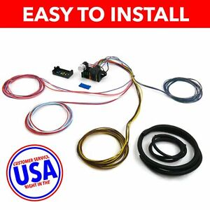 1966 1969 Ford Fairlane Gt Gta Cobra Ultra Pro Wire Harness System 12 Fuse