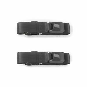 Amc Amx 1967 1974 Standard 2pt Charcoal Lap Bucket Seat Belt Kit 2 Belts Hot