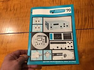 Wiltron Electronics Test Equipment Instrument Catalog Phase Meters Attenuator