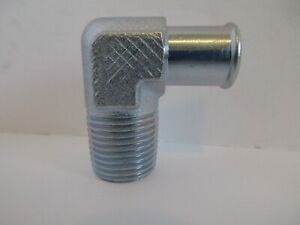90 Degree Fitting 58 Hose To 12 Npt Intake Manifold Fitting Heater 4530z