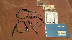 Tektronix Scope Probes And Accessories Bundle