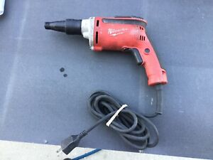 Milwaukee 6742 20 Dry Wall Screwdrver free Shipping