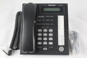 Lot Of 10 Panasonic Kx t7731 Blk 24 Button Advanced Hybrid System Office Phones