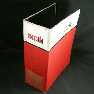 Vintage Case International Harvester Tractor Empty Binder Service Parts Manual