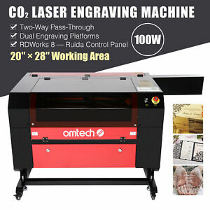 Co2 Laser Engraver Cutter 100w 28 x20 Ruida Engraving Cutting Marking Machine