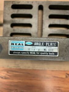Neal Precision Slotted Angle Plate Item 1074