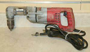 Milwaukee 1001 1 1 2 Reversing Right Angle Drill used Free Shipping