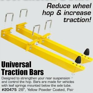 Universal Adjustable Traction Bars 28 Length For Chevy Holden Chrysler 20475