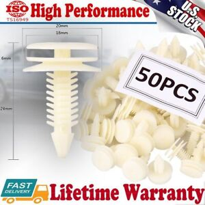 50pcs Front Door Trim Panel Retainer Car Fasteners Clips For Gm Chevy Buick Gmc Fits 1994 Pontiac Firebird