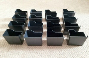 16 Uturn Terminator Candy Vending Machine Coin Box Coin Cups Lot Of 16