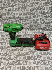 Snap On Lithium Ion Ct8810bg 18v Cordless 3 8 Impact Wrench
