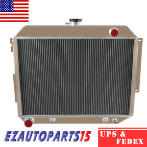 4 Row Radiator For 1966 1970 1967 1968 1969 Dodge chrysler Mopar 7 2l 440 V8 Gas