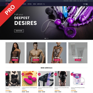 Adult Toys Dropshipping Store Professional Done for you Website Business