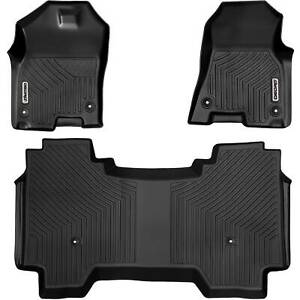 Oedro Floor Mats Liners Tpe For 2019 2021 Dodge Ram 1500 Crew Cab All Weather
