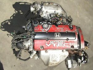 Jdm Honda Prelude H22a Engine Mechanic Special Burns Oil For Parts H22a4