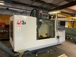 Haas Tm 3p 40 X 20 Cnc Mill Probe Rigid Tapping Hs Machining 4th axis