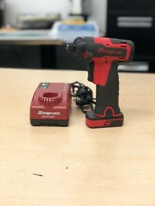 Snap On Cts725 1 4 Micro Lithium Cordless Screwdriver Drill Kit