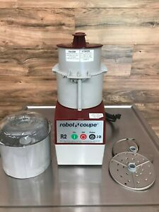 Robot Coupe R2n Food Processor W Continuous Feed 3 Quart Bowl Electric 120 V