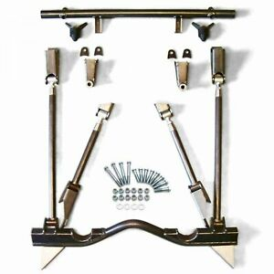 1963 1966 Chevrolet C10 Truck Rear Suspension Triangulated 4 Link Kit 5 3l 305