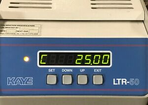 Kaye Ltr 50 Amphenol Temperature Bath Dry Well Similar To Ltr 140 For Rtd Etc