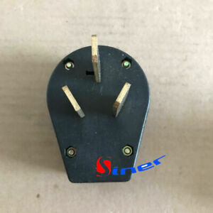 Replacement 50 Amp 220 Volt 3 Prong Plug Electrical Rv Welder 220v 2 95inch