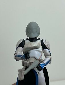 "Custom Star Wars Clone Trooper Spec Ops Helmet Black Series 6"" 1 12 $15.00"