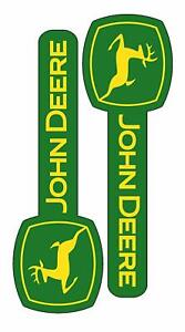 John Deere Stickers 2 Piece Vinyl Sticker Decal Farm Tractor Gator Deer