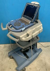 Sonosite Micromaxx Portable Ultrasound System W Cart And C60e Curved Transducer