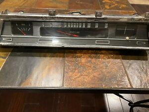 66 67 Chevelle Ss 396 Floorshift Gauge Instrument Cluster 1966 1967 Super Sport