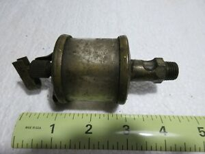 Detroit Lubricator Co 601 1 2 Brass Oiler For Hit Miss Gas Or Steam Engine