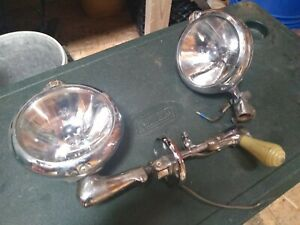 Vintage Unity Mfg Co Spot Light Model S6 Made In Chicago Usa Lot Of 2