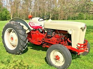1956 Ford 640 Tractor Many New Parts 12volt Extras Contact For Transport Inf