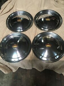 1950 1951 Chrysler Crown Imperial Hubcaps Wheel Covers