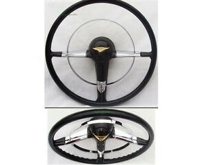 Retro Chevy Steering Wheel 1955 1956 New
