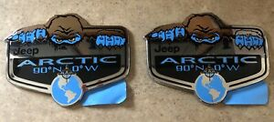Jeep Arctic Badges Emblems Lot Of 2 Genuine 5